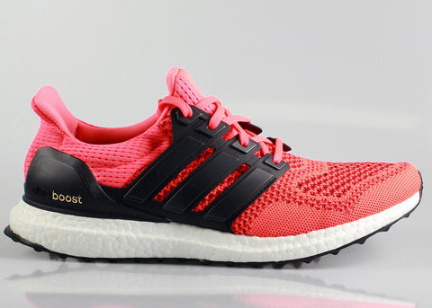 6d6f5364e2870 Adidas Ultra Boost Core Black   Solar Red - On Sale + FREE Shipping ...