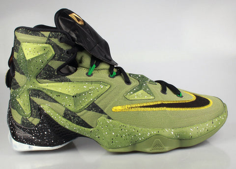 new concept f2699 d5e9a ... hot nike lebron 13 green black ba55c 32676 ...
