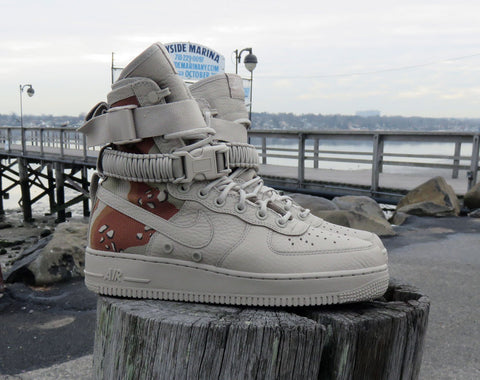 Nike SF Air Force 1 Desert Camo Available Now! Limited Release ... bfc4f32bc