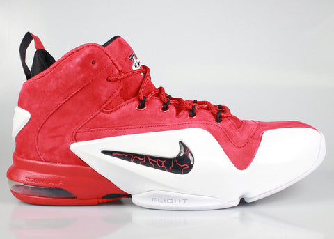 new style d894b 14ac9 Nike Air Penny 6 Red Suede – KickzStore