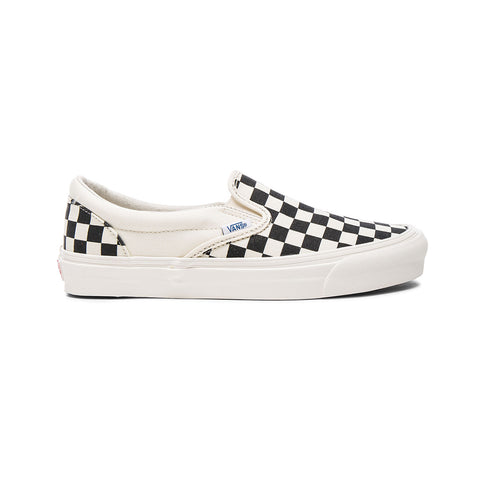 Vans Men's Slip-On Canvas Checkerboard - KickzStore