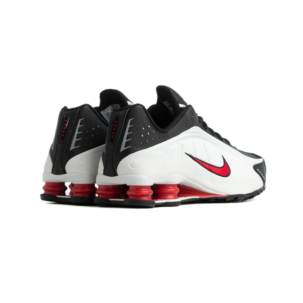 Nike Men's Shox R4 Platinum Tint University Red - KickzStore