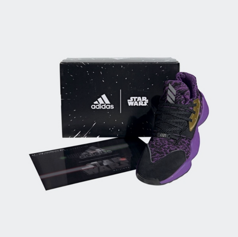 Adidas Men's Harden Vol 4 Star Wars Lightsaber Purple