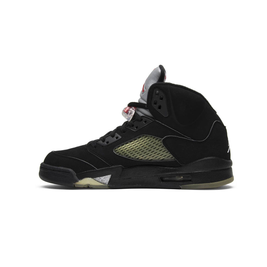 Air Jordan Men's 5 Retro Black Metallic 2007 Release