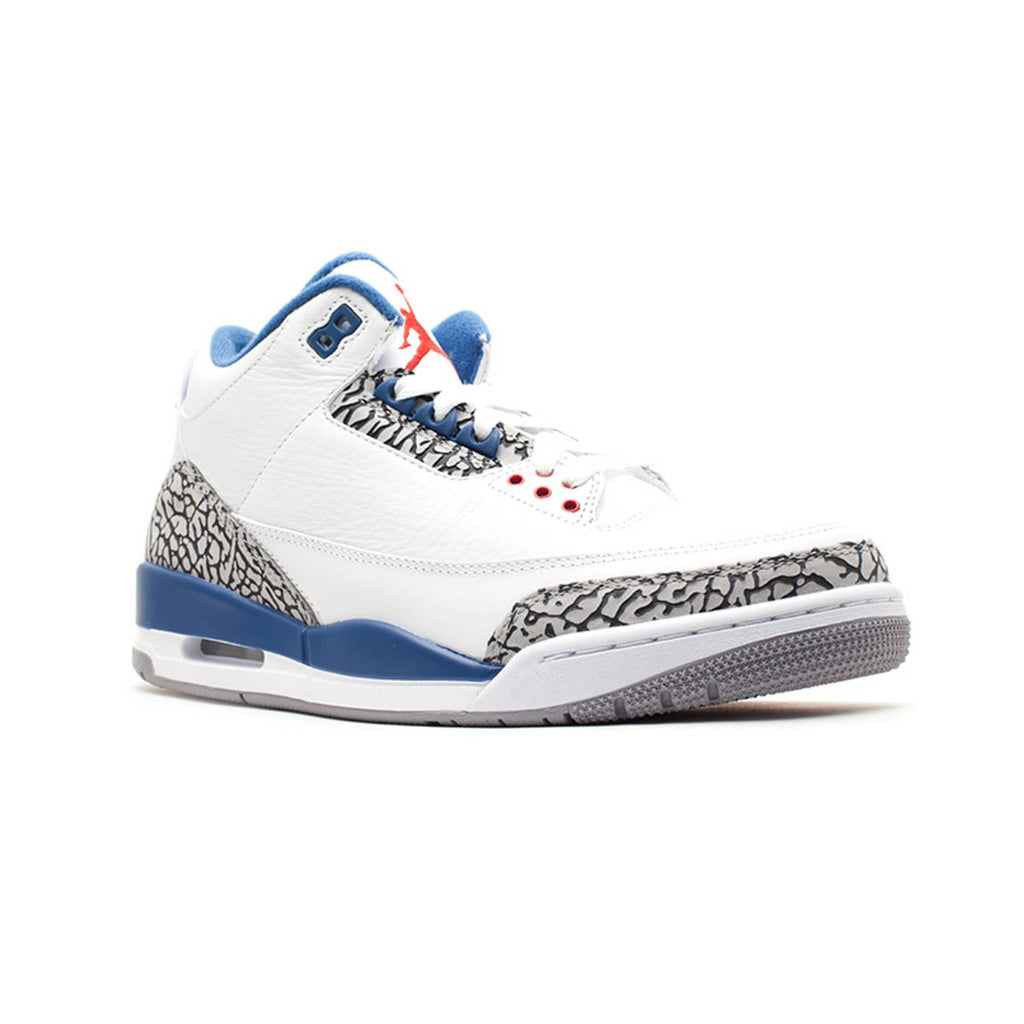 Air Jordan Men's 3 Retro True Blue 2011 Release