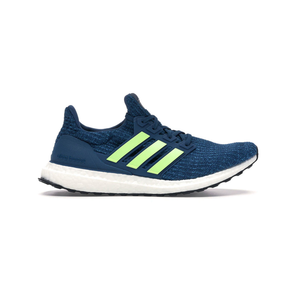 Adidas Men's Ultraboost 4.0 Legend Marine Hi Res Yellow