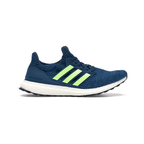Adidas Men's Ultraboost 4.0 Legend Marine Hi Res Yellow - KickzStore