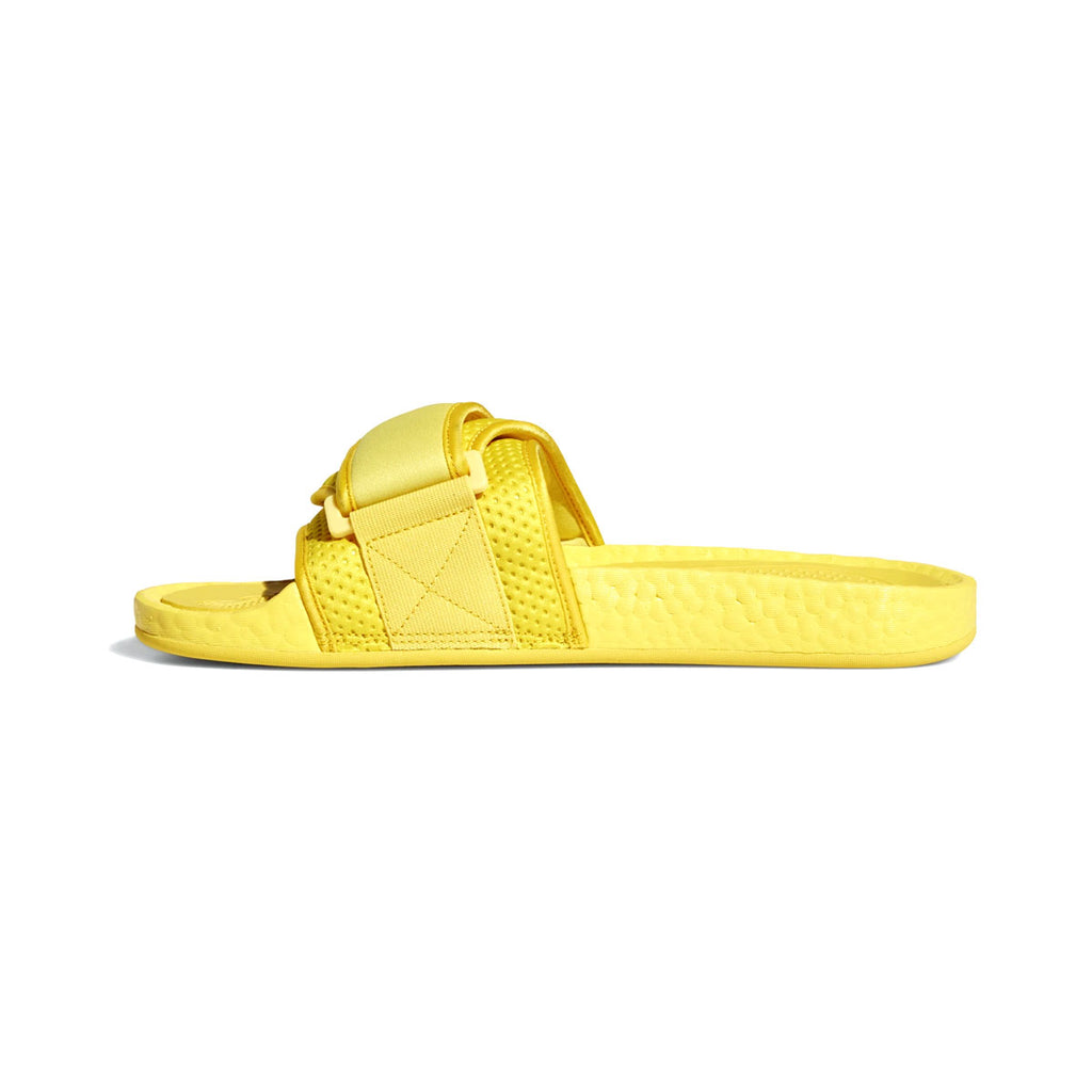 Adidas x Pharrell Williams Boost Slides Bold Gold