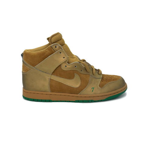 Nike Dunk High Pro SB Lucky 7 Wheat Metallic Gold