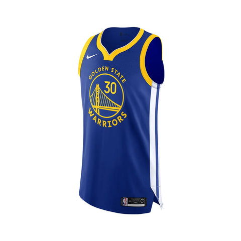 Nike Stephen Curry Warriors Icon Edition Nike NBA Authentic Jersey