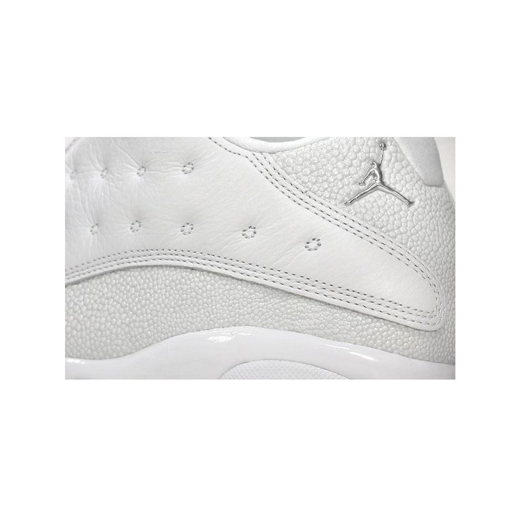 Air Jordan Men's 13 XIII Retro Low White Metallic Silver - 2005 Release - KickzStore