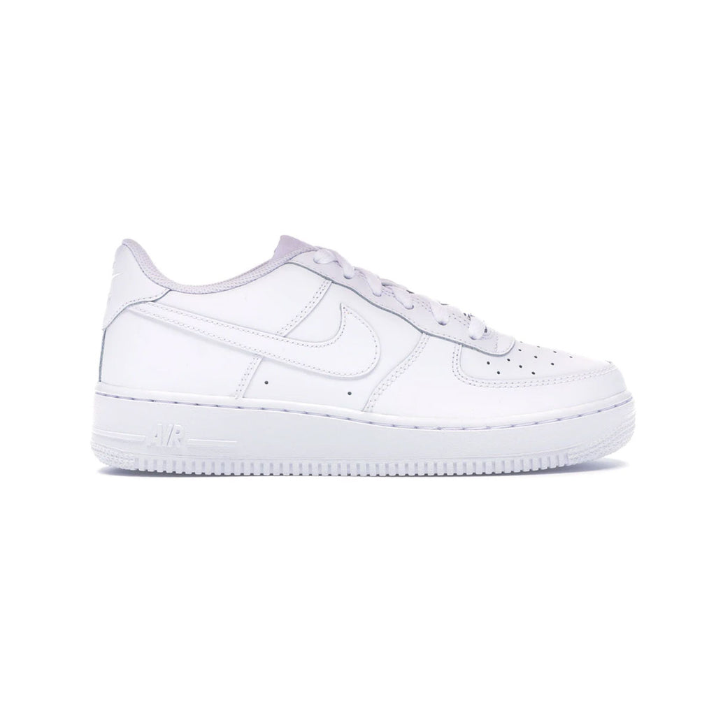 Nike Big Kid's Air Force 1 GS Low White - KickzStore