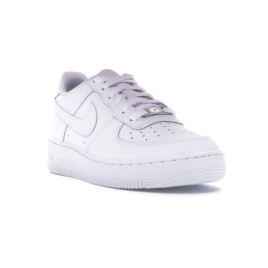 Nike Big Kid's Air Force 1 GS Low White