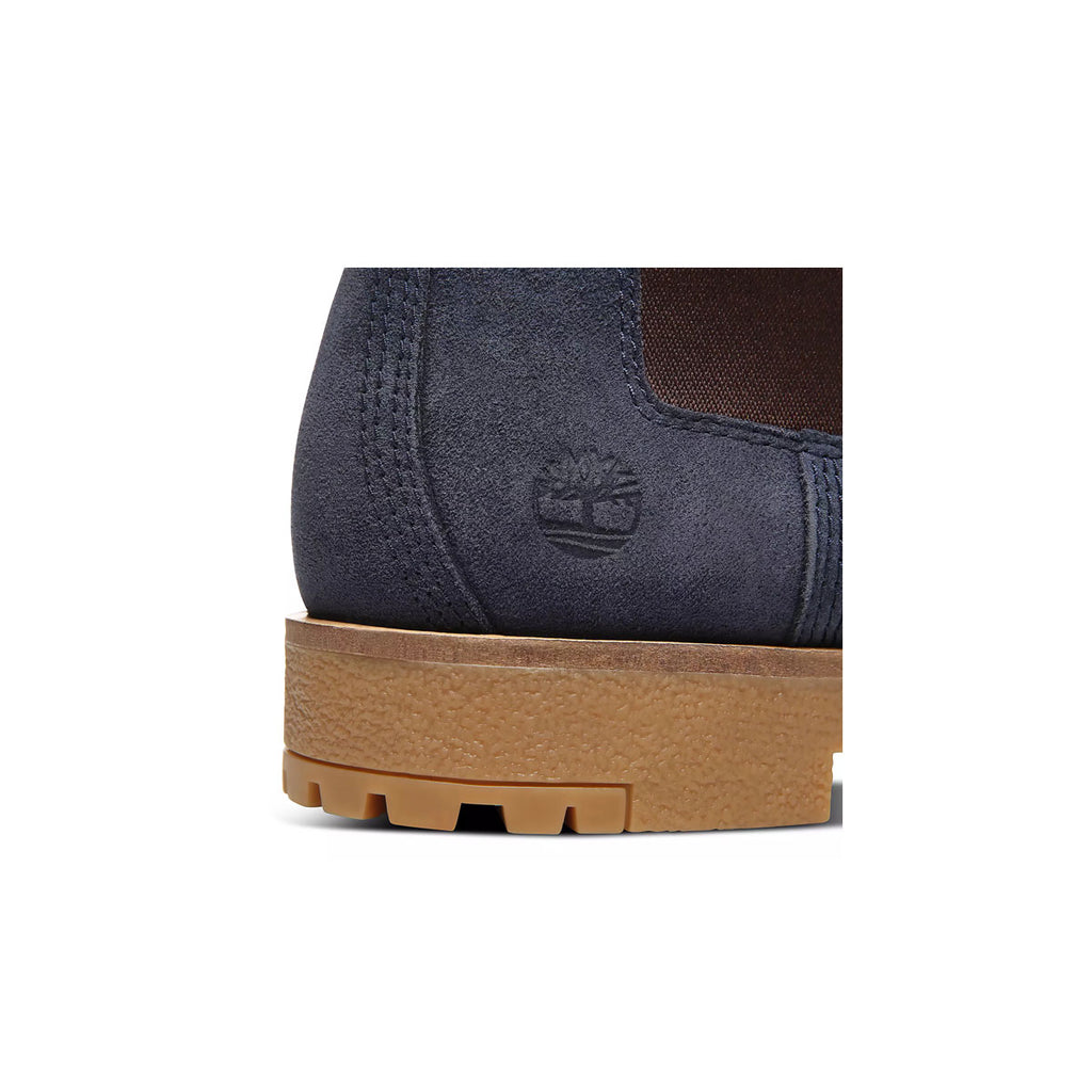 Timberland Men's Cruisemaster Leather Boots Navy Gum Sole - KickzStore