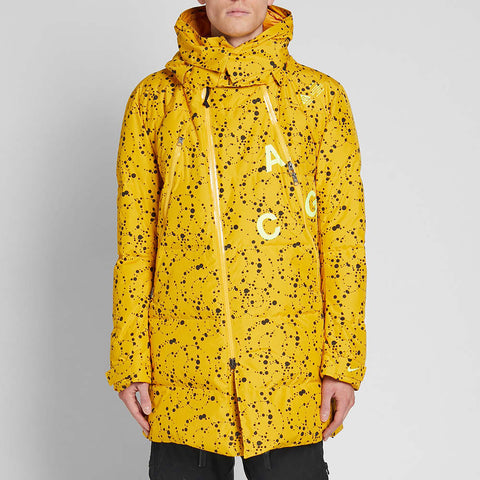 NikeLab ACG Down Filled Parka Yellow Ochre
