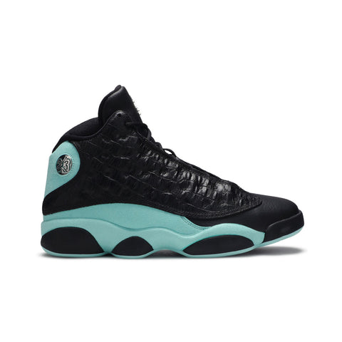 Air Jordan Men's 13 XIII Retro Black Island Green