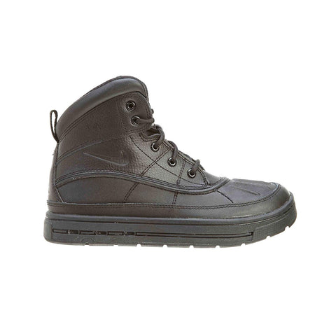 Nike Kid's Pre-School Woodside 2 High PS Triple Black Duck Boots