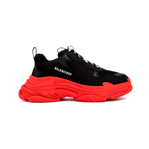 Balenciaga Triple S Trainer 'Black Red'