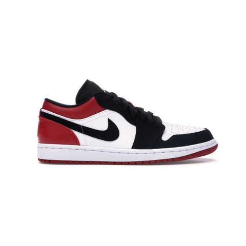 Air Jordan 1 I Retro Low 'Black Toe' White Black Gym Red