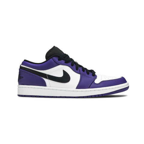 Air Jordan 1 Low Court Purple White - KickzStore
