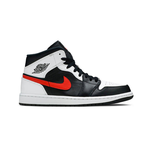 Air Jordan 1 Mid Black Chile Red - KickzStore