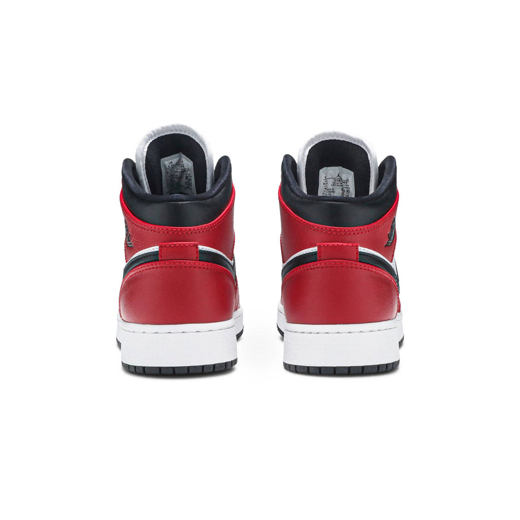 Air Jordan 1 Mid GS Chicago Black Toe - KickzStore