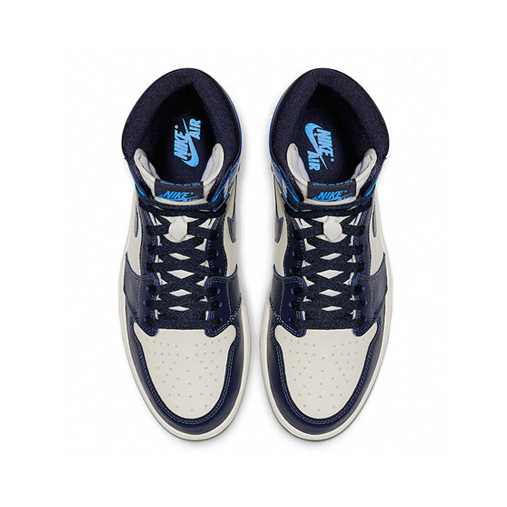 Air Jordan Men's 1 I Retro High Obsidian UNC