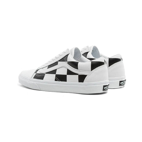 Vans Men's UA Old Skool True White Black