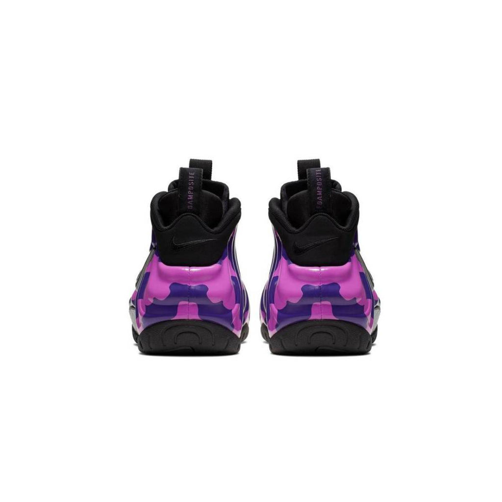 Nike Air Foamposite Pro Purple Camo Black Court Purple Basketball Shoes