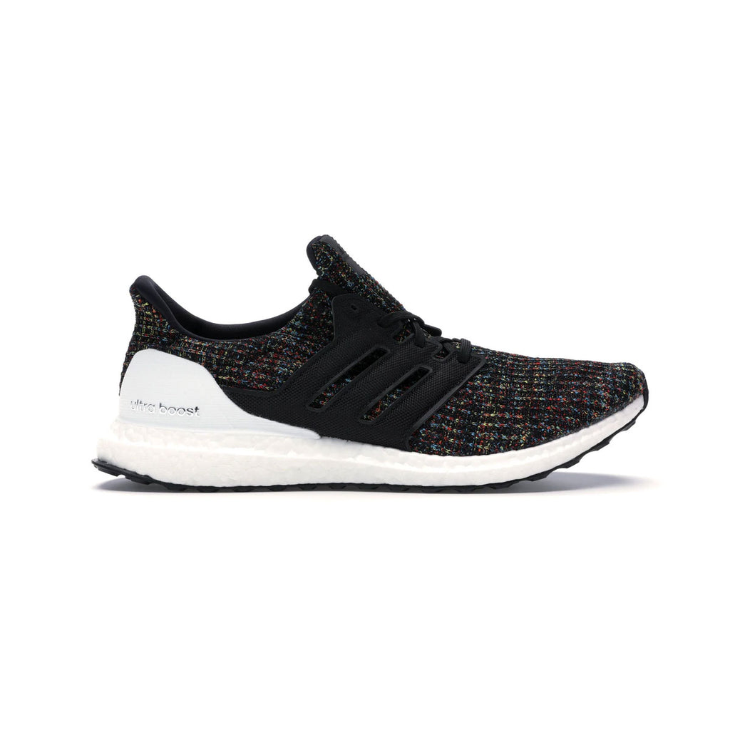 Adidas Men's Ultraboost 4.0 Black Multicolor - KickzStore