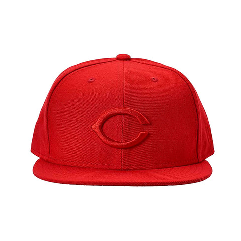 New Era 9FIFTY St. Louis Cardinals All Red Snapback Hat - KickzStore