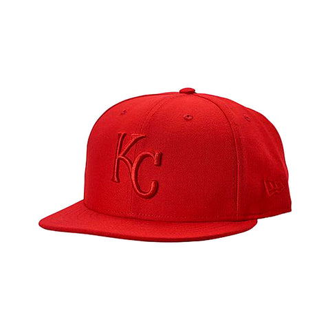 New Era 9FIFTY Kansas City Royals MLB Triple Red Snapback Hat - KickzStore