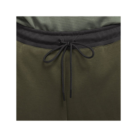 Nike Men's NSW Sportswear Tech Fleece Olive Green Gunsmoke Grey Jogger Pants