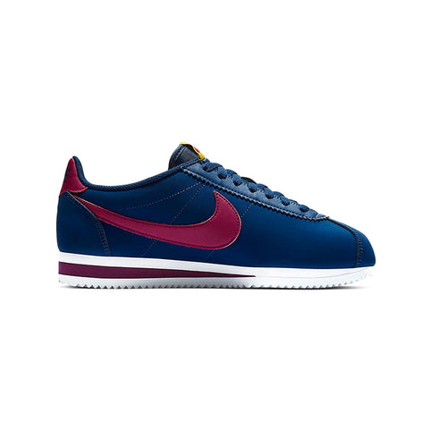 Nike Women's Classic Cortez Leather Blue Void True Berry