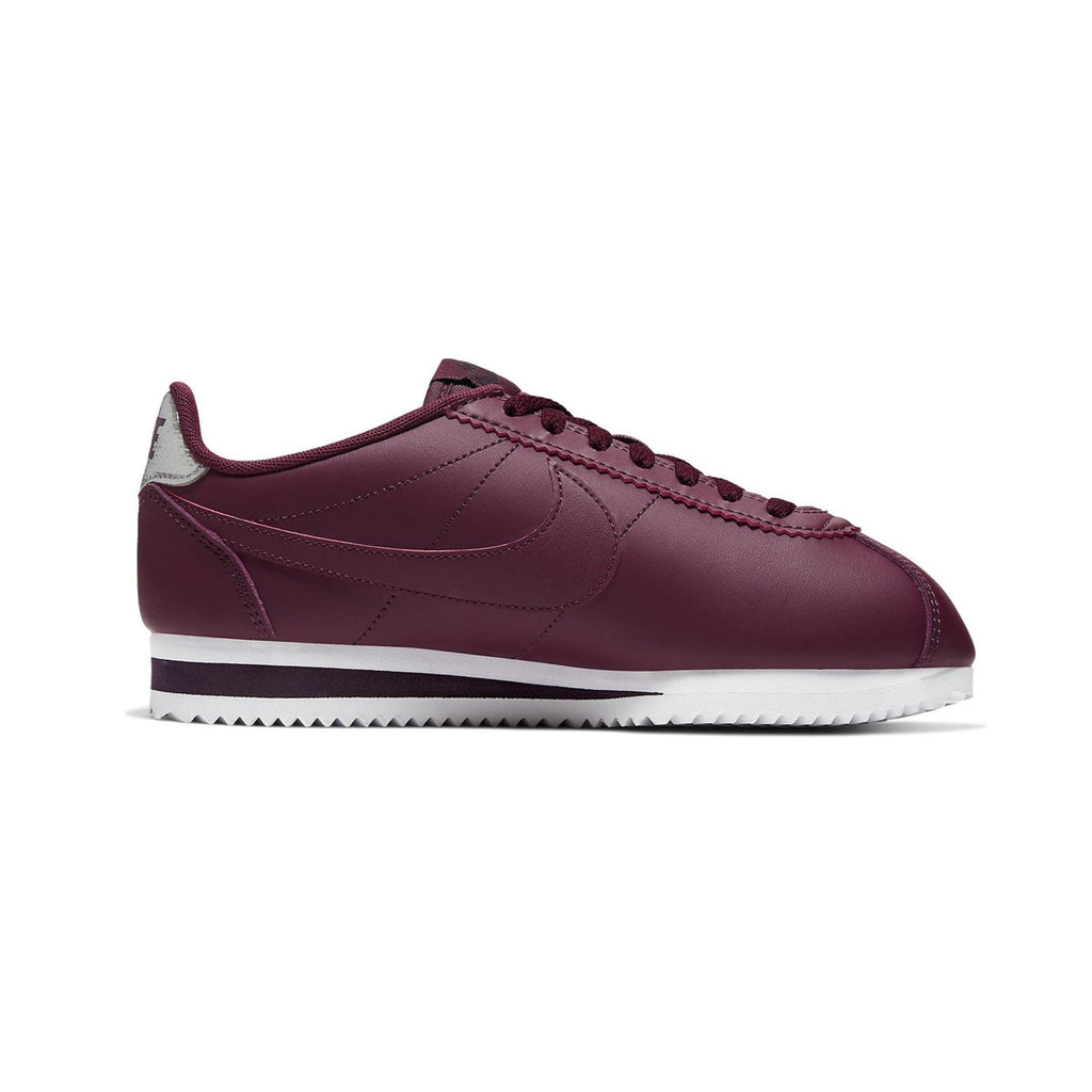 Nike Women's Classic Cortez Leather Night Maroon White