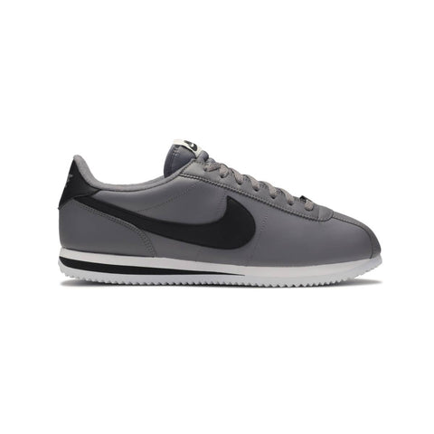 Nike Men's Cortez Basic Leather Gunsmoke Black White