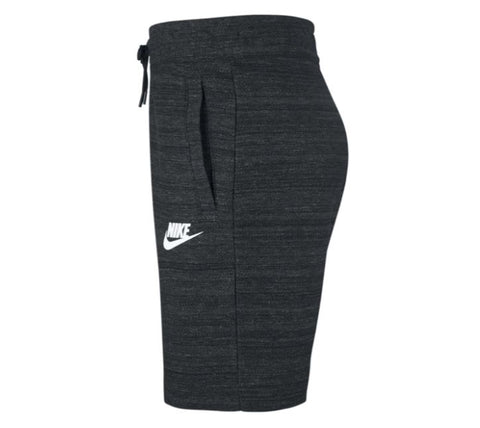 Nike Men's NSW Sportswear Advance AV15 Knit Shorts Black Heather 837014-010