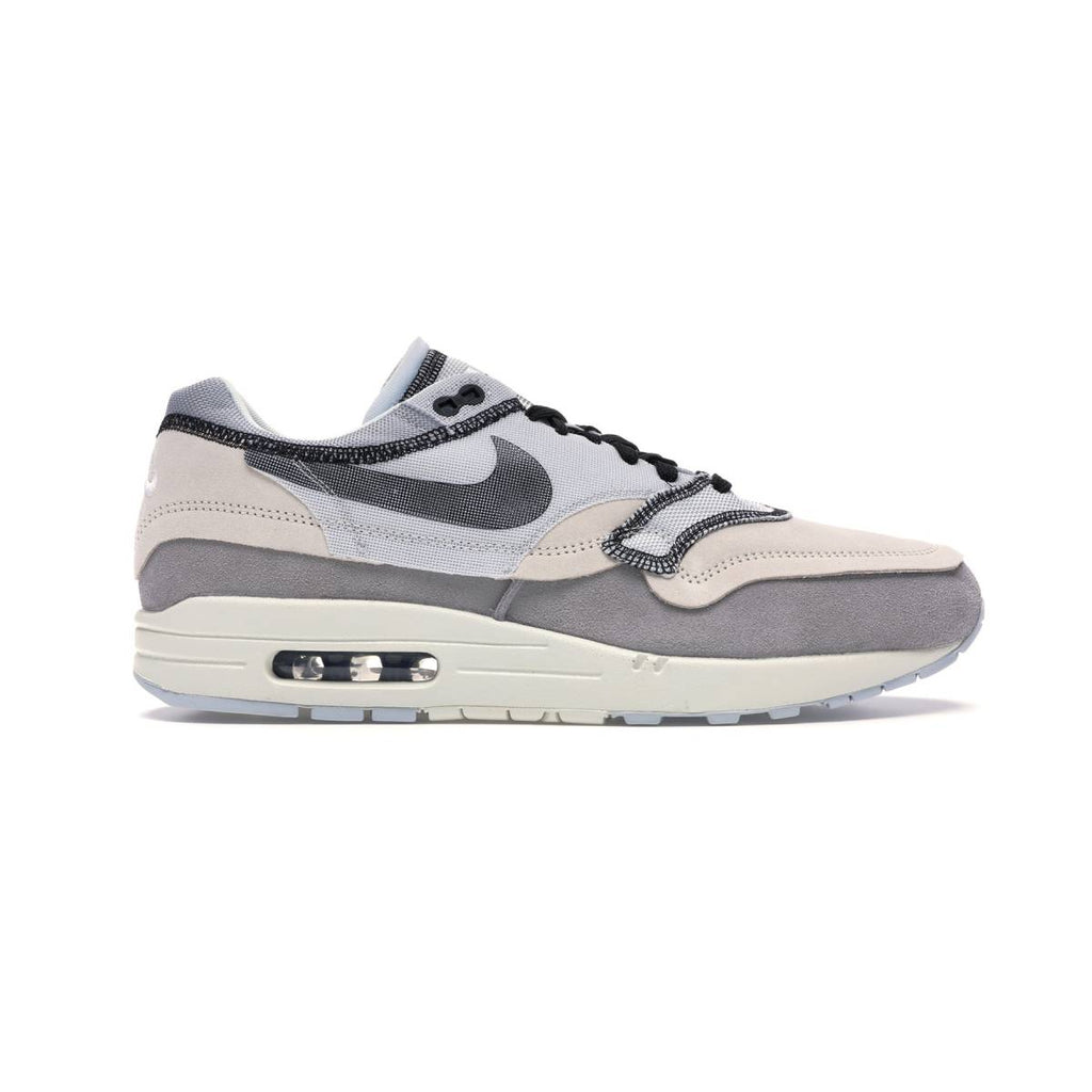 Nike Men's Air Max 1 Inside Out Pack Phantom Black Platinum Running Shoes
