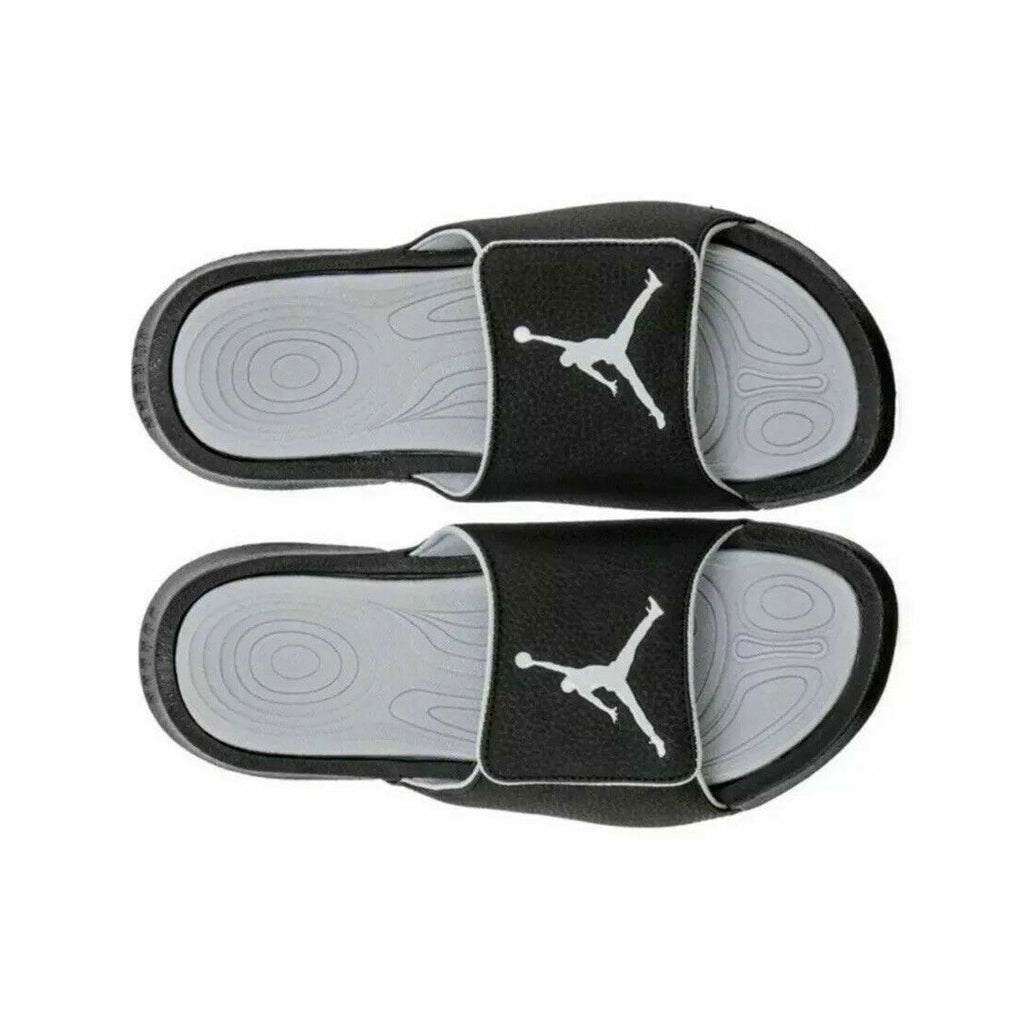 Air Jordan Hydro 6 Retro Slide Black Wolf Grey Sandals - KickzStore