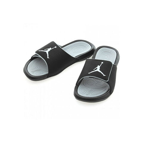 Air Jordan Hydro 6 Retro Slide Black Wolf Grey Sandals
