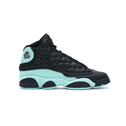 Air Jordan 13 Retro GS Black Island Green