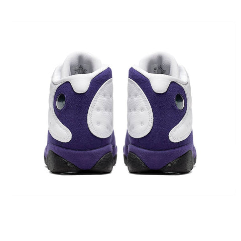 AirJordan Kid's GS 13 XIII Lakers White Court Purple Black