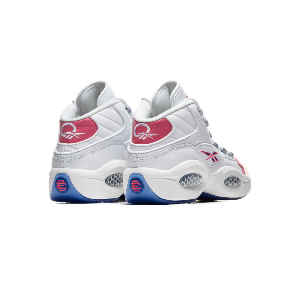 Eric Emanuel x Reebok Men's Question Mid  Pink Toe