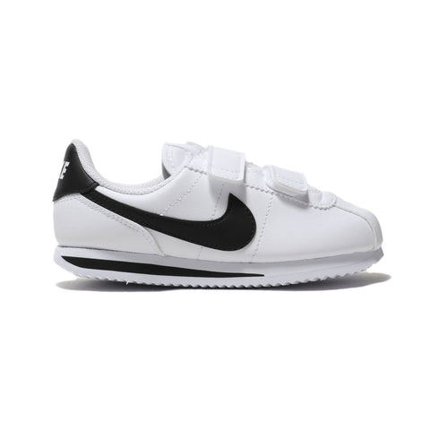 Nike Kid's Cortez Basic SL 'White Black' (PS)