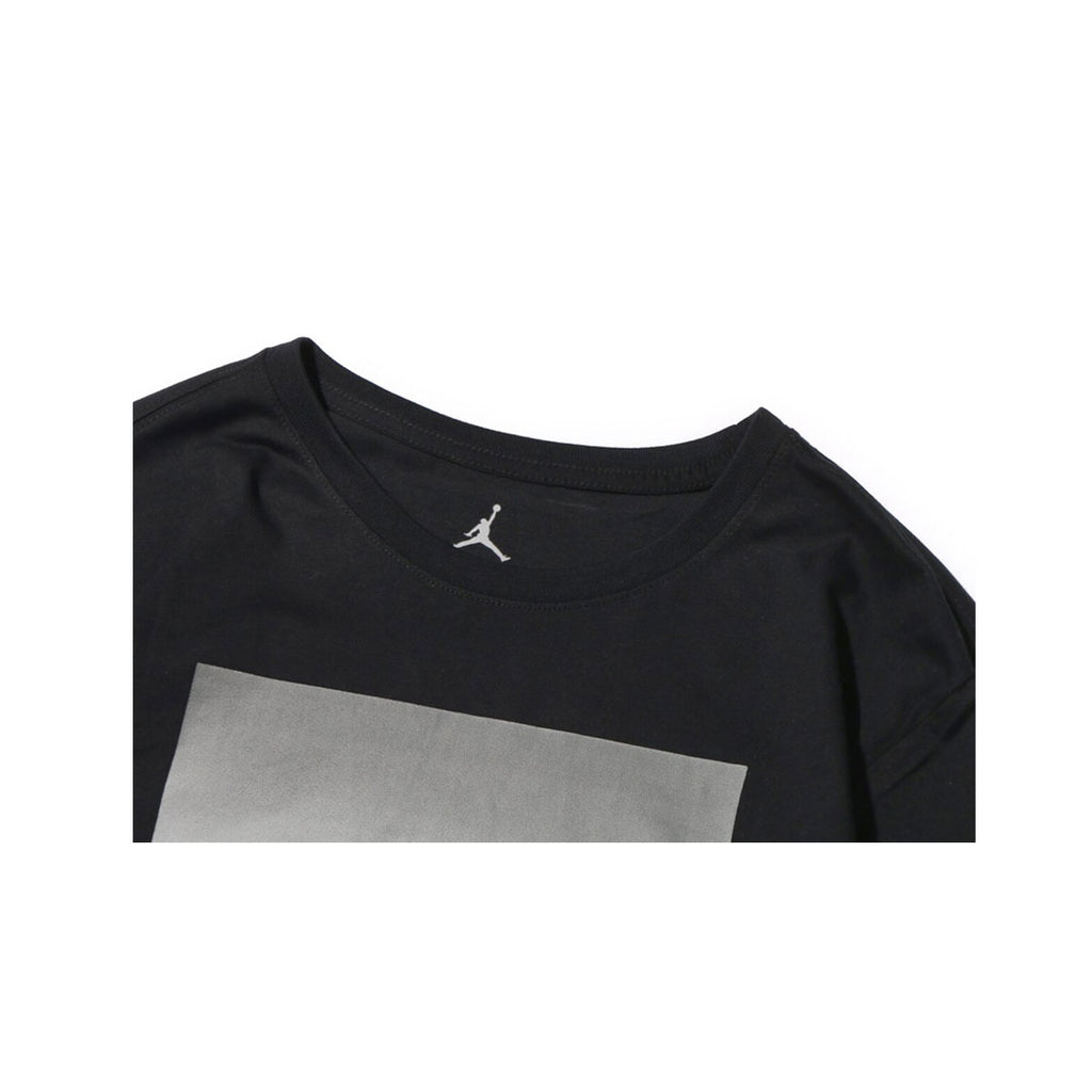 Air Jordan Men's City of Flight Long Sleeve Black Shirt - KickzStore