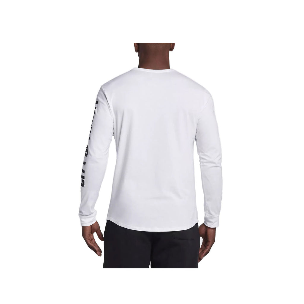 Air Jordan Men's City of Flight Long Sleeve White Shirt
