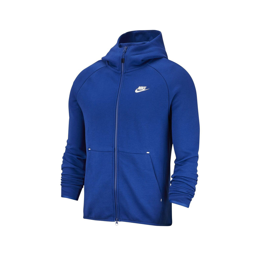 Nike Men's Sportswear Tech Fleece Full Zip Hoodie Indigo Force Blue 928483-438