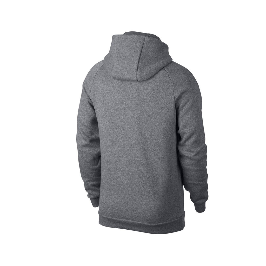 Air Jordan Men's Sportswear Full Zip Jumpman Fleece Hoodie Gray White - KickzStore