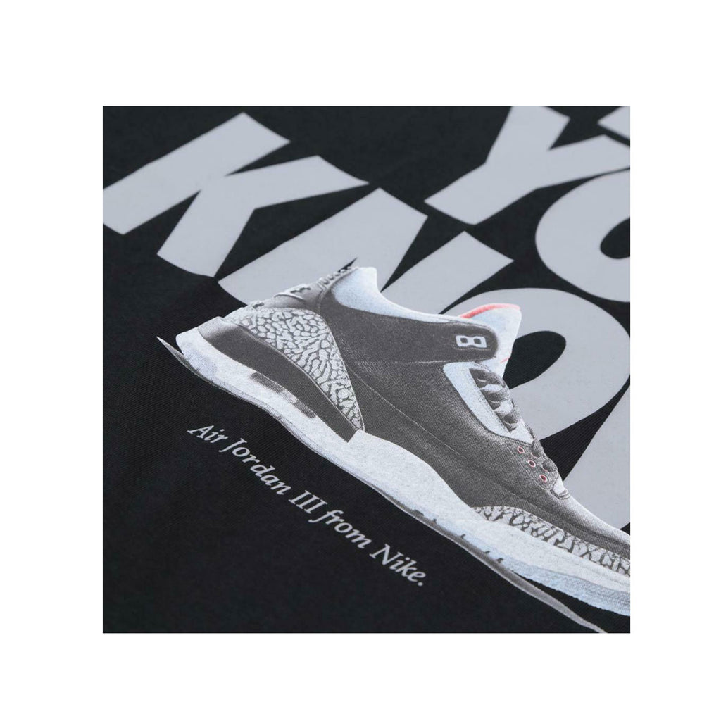 Air Jordan Men's Jordan 3 III CNXN Do You Know Black Tee - KickzStore