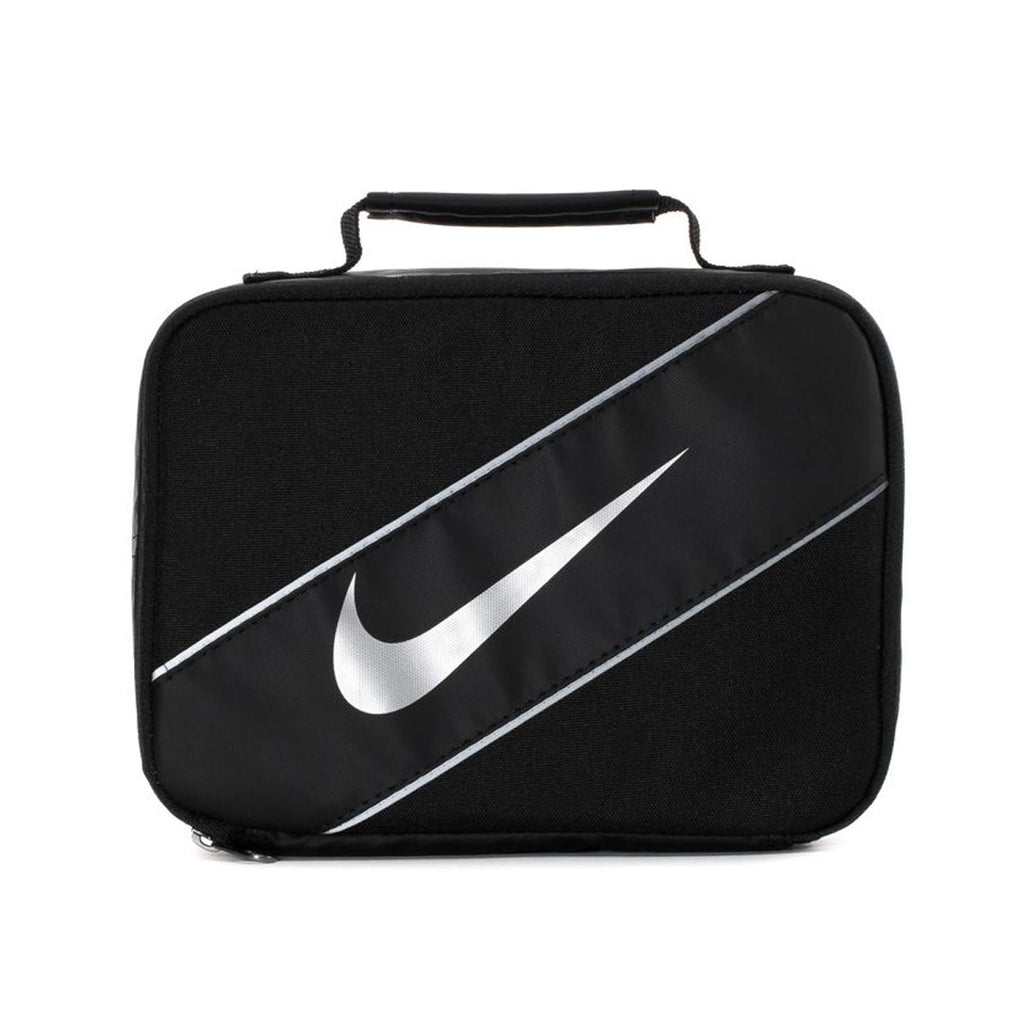 Nike Insulated Lunch Box Bag Tote Black Reflective